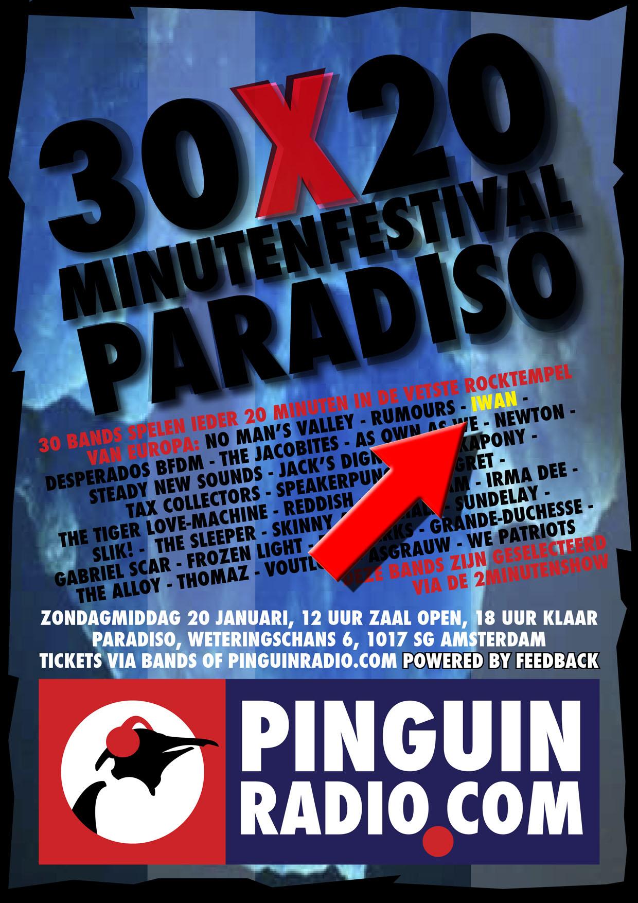 30x20minutenshow poster